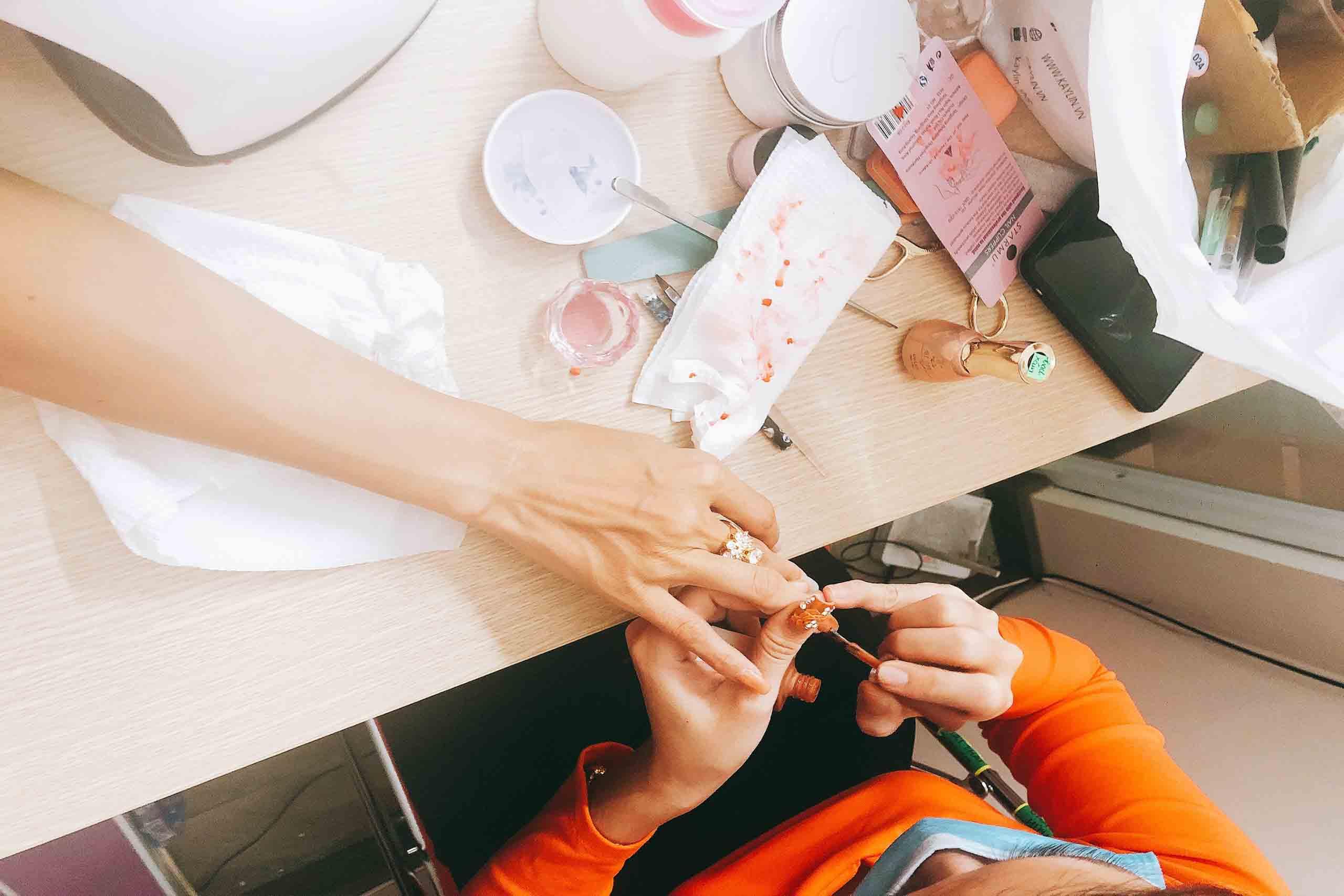 khóa học nail - đào tạo làm móng thẩm mỹ gò vấp hcm